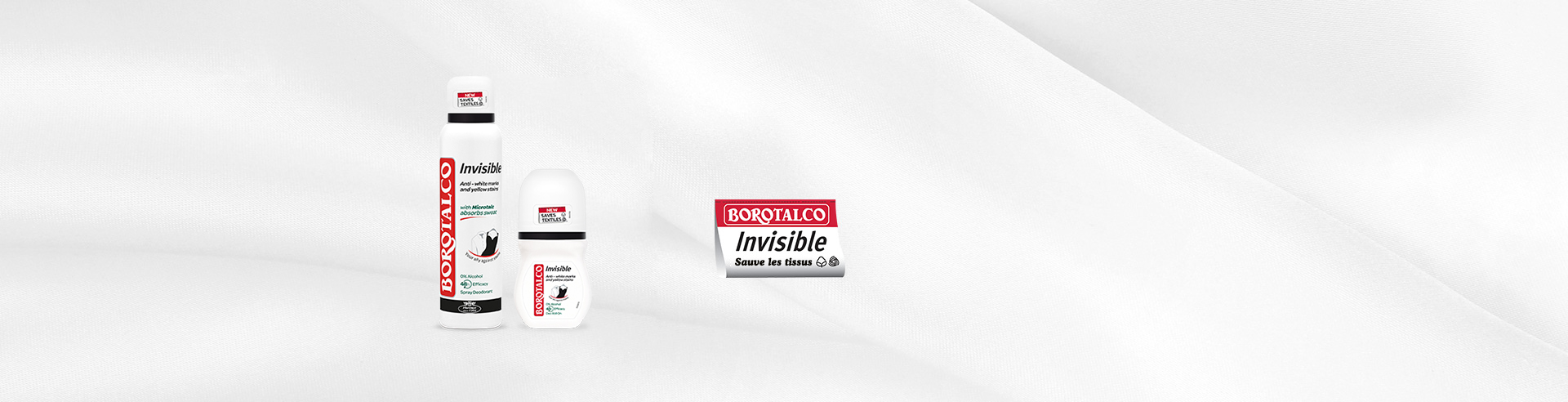 Deodoranti Invisible